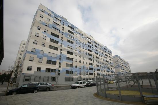 Rehabilitación fachada en Plaza de la Fontsanta-Cornellà
